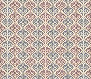 Seamless background with a pattern. A seamless blue background with patterns Royalty Free Stock Photos
