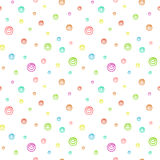 Seamless background pattern with bubbles Stock Photo