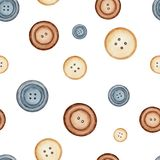 Watercolor background pattern with buttons