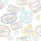 Seamless background pattern of a close packed Stock Images