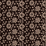 Seamless background pattern of contrasting colors.. Postcard in contrasting colors vector. Seamless pattern flowers background Royalty Free Stock Photography