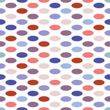 Seamless background pattern with dots Stock Photo