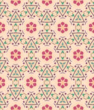 Seamless background, pattern with flowers, signs, symbols. Nature background Royalty Free Stock Images