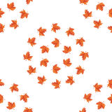 Seamless background pattern of foliage Royalty Free Stock Images