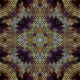 Geometric abstract pattern. Royalty Free Stock Photo