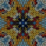 Geometric abstract pattern. Royalty Free Stock Photos