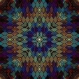 Geometric abstract pattern. Stock Image