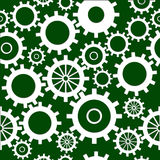 Seamless Gears Royalty Free Stock Photography