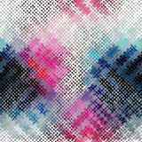 Seamless rough canvas. Seamless background pattern. Imitation of a texture of rough canvas painted with paint Stock Photos