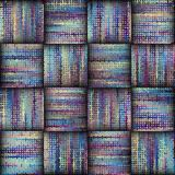 Seamless rough canvas. Seamless background pattern. Imitation of a texture of rough canvas. Weave texture Stock Photo