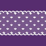 Seamless background pattern lace, violet and white color Royalty Free Stock Image