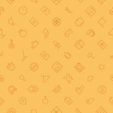 Seamless background pattern for leisure and travel Stock Photography