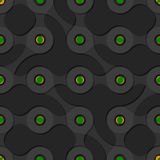 Seamless background pattern with metaball form.  royalty free illustration