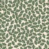 Seamless background / pattern with mint leaves Royalty Free Stock Image