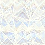 Seamless mosaic pattern. Seamless background pattern. Mosaic art pattern of triangles of different tile textures. Vector image Stock Photo