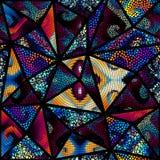 Seamless mosaic pattern royalty free illustration