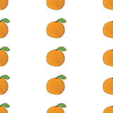 Seamless background pattern orange. Vector Stock Photo
