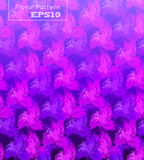 Seamless background with pattern of pink flowers. Royalty Free Stock Photography