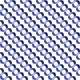 Seamless background pattern with repeating endless chains. Isolated on the white (transparent) background. Vector eps illustration Royalty Free Stock Photo