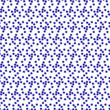 Seamless background pattern with repeating forget-me-not flowers Stock Photos