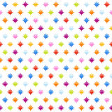 Seamless background pattern with stars Royalty Free Stock Photo