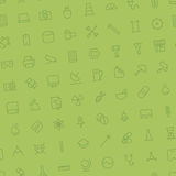 Seamless background pattern for technology and science Stock Photography