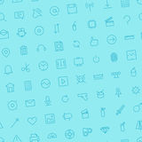 Seamless background pattern for user interface Stock Image