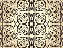 Seamless background pattern. vintage heraldic Stock Photo