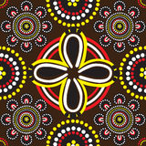 Seamless background patterns and the Australian Royalty Free Stock Photos
