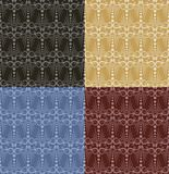 Seamless background with patterns. Royalty Free Stock Photography