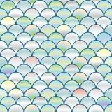 Seamless background with pearl circles similar to fish scales, background with pearls.