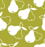 Seamless background with pears stock illustration