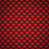 Seamless background perforated plastic sheet in Stock Images