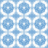 Seamless background of Persian style Stock Images