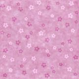 Seamless background with pink flowers Stock Photo