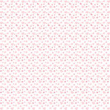 Seamless background of pink hearts Royalty Free Stock Images