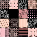 Seamless background pink patch. Seamless background pattern. Will tile endlessly Stock Photography