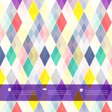 Seamless background of plaid pattern Royalty Free Stock Photography