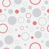 Seamless Background with Polka Dot pattern Stock Photo