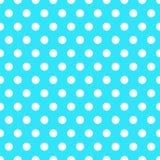 Seamless Background with Polka Dot pattern. Polka dot fabric. Retro pattern. Casual stylish white polka dot texture royalty free illustration