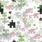 Seamless background. Puzzle. Royalty Free Stock Images