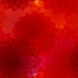 Seamless background with red flowers Royalty Free Stock Photo
