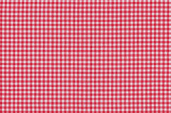 Seamless background. With red and white squares Royalty Free Stock Photos