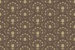 Seamless background Retro Patern Royalty Free Stock Photo