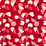 Seamless background with rose petals. Royalty Free Stock Photos