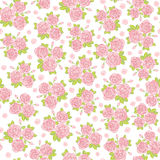 Seamless  background with roses. Seamless abstract background with roses Stock Images