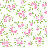 Seamless   background  with roses Royalty Free Stock Photography