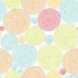 Seamless background, seamless pattern with round shapes Stock Photography