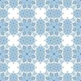 Seamless Background Snowflake Stock Image