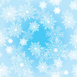 Seamless background with snowflakes_3 Stock Image